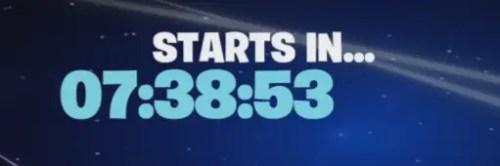 fortnite season 5 timer