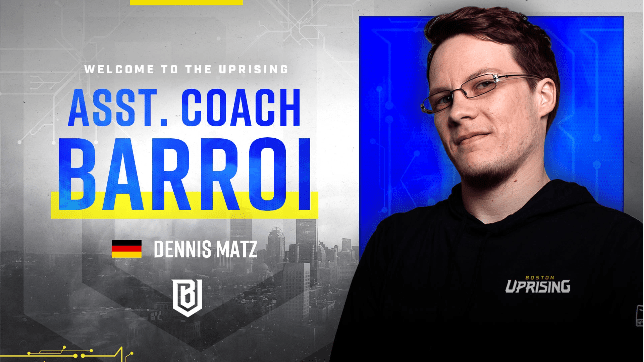 Boston Uprising Welcome Barroi