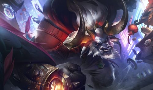Lunar Beast Alistar Splash Art