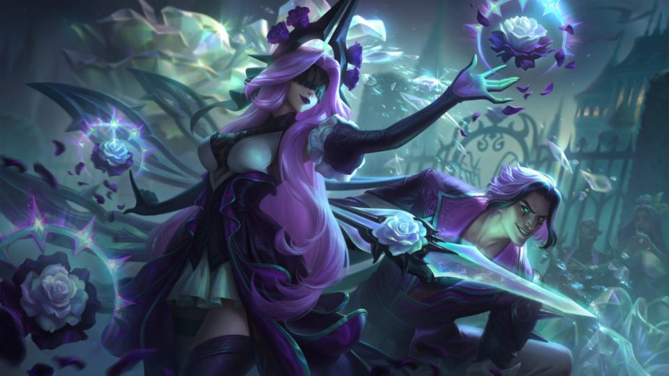Withered Rose Syndra Splash Art