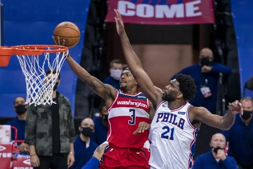 Washington Wizards Lose to Philadelphia 76ers Despite 60 Points From Bradley Beal