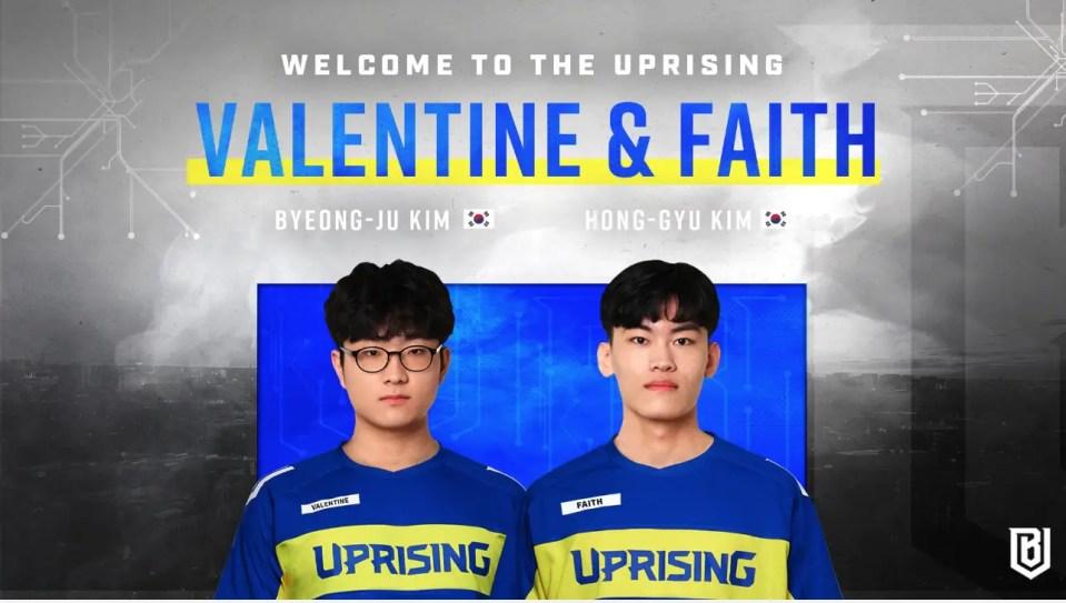 Uprising Sign Valentine Faith