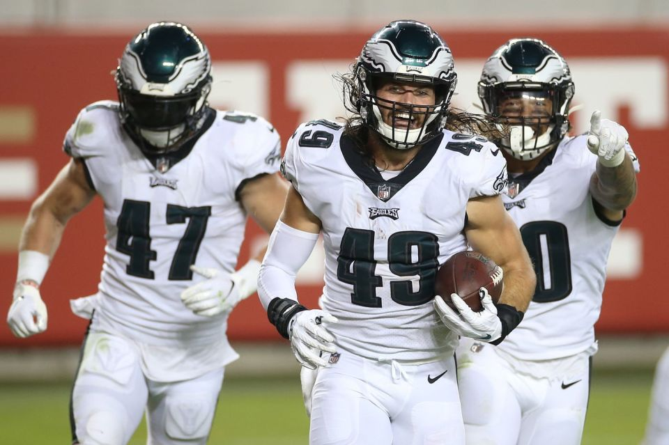 Free Agent Linebackers for the Philadelphia Eagles