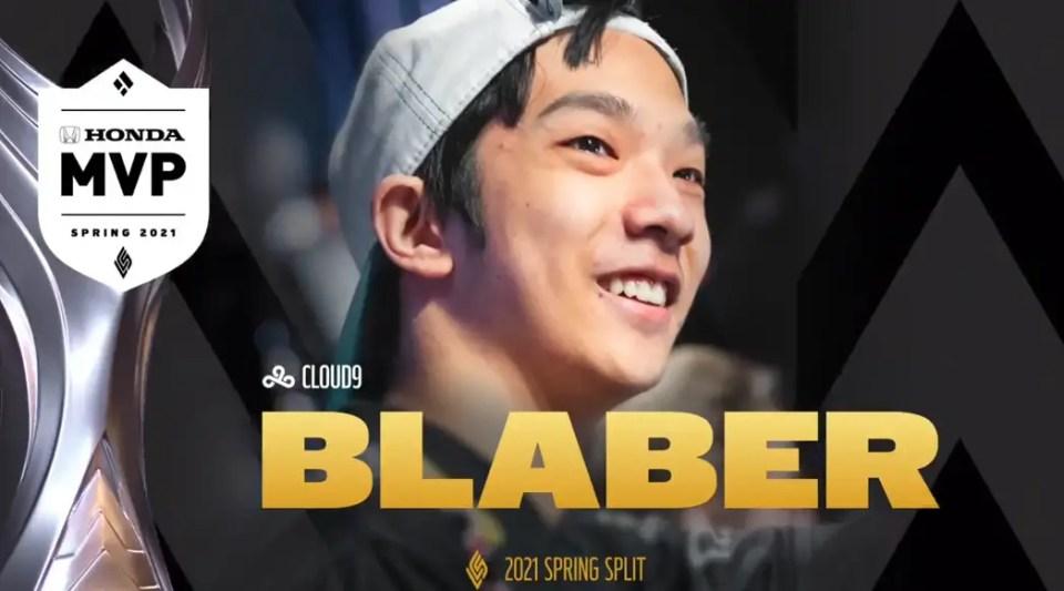 Blaber Wins MVP 2021