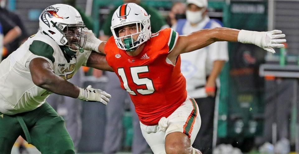 Jaelan Phillips 2021 NFL Draft profile