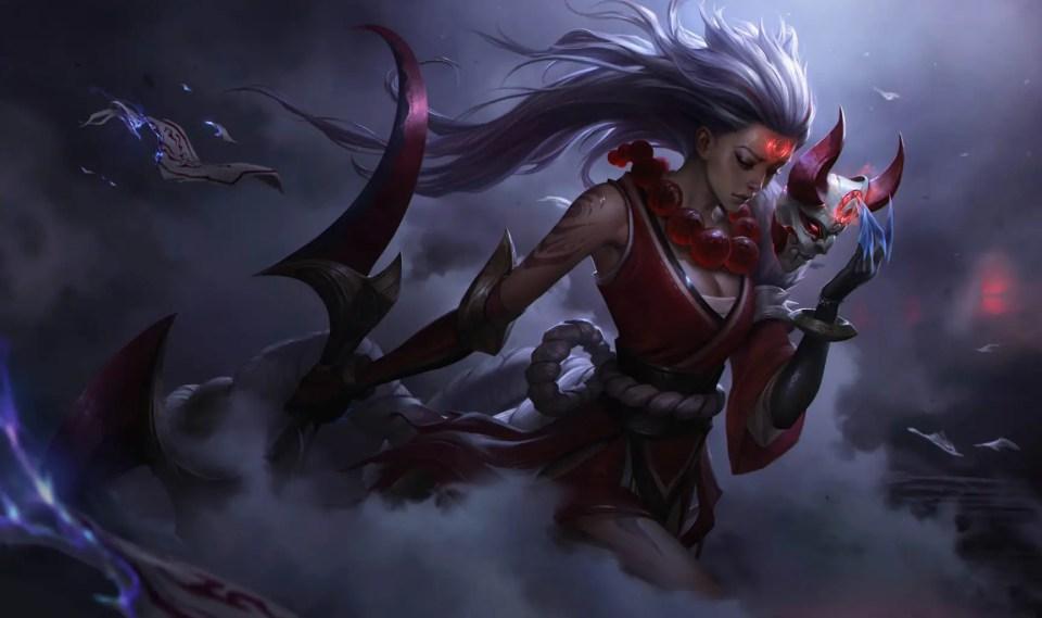 Blood Moon Diana Wild Rift