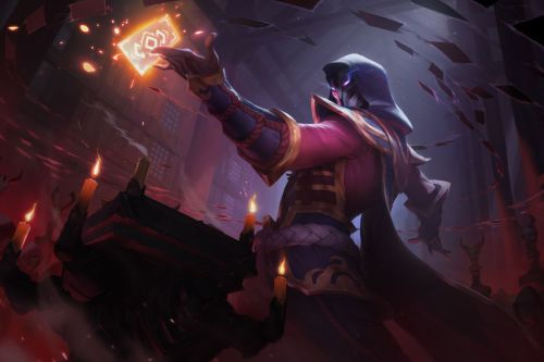 Blood Moon Twisted Fate Wild Rift