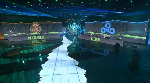 Pentanet.GG versus Cloud9 was the last match of Day 4.