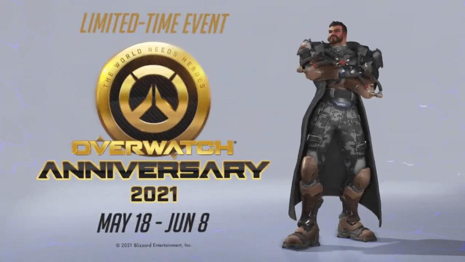 overwatch anniversary skins 2021