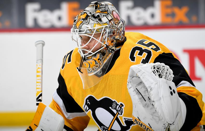 Jarry has been under fire by Penguins fans recently