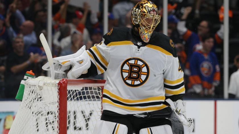 Boston Bruins goaltender, Tuukka Rask.