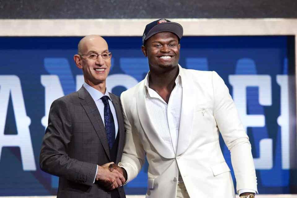 Zion Williamson Draft Day