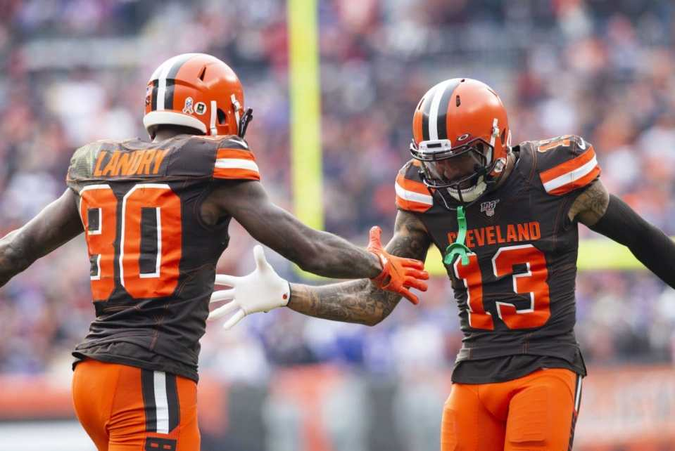 Browns wide receivers