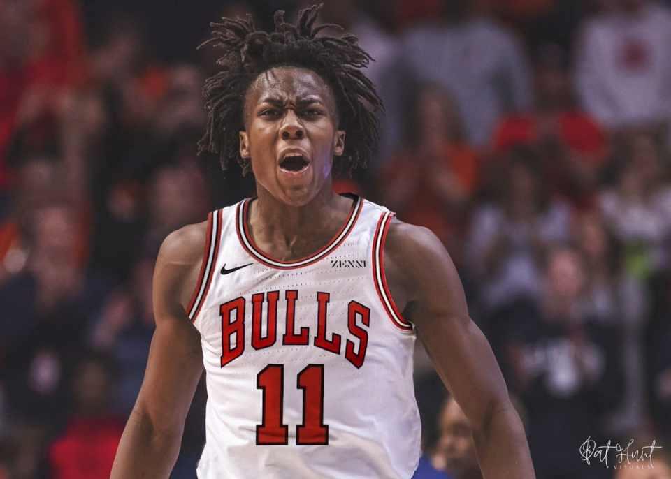 The Bulls Drfat Hometown Star Ayo Dosunmu