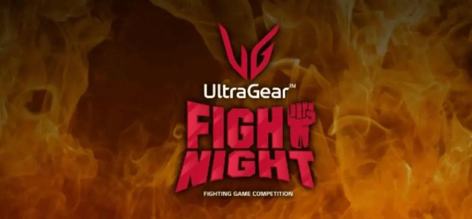 LG UltraGear Fight Night