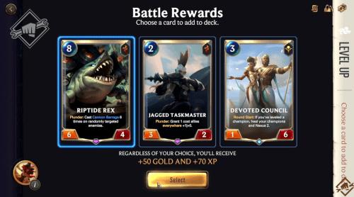 LoR RPG Lab Rewards