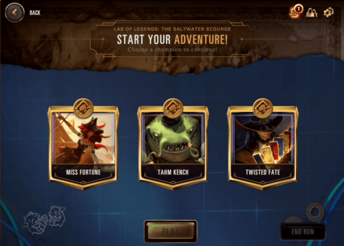 Legends of Runeterra RPG Lab Starters