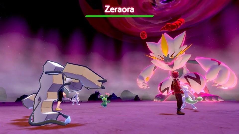 Pokemon Unite Zeraora Build