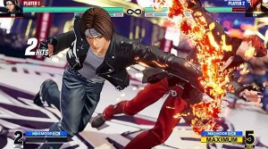King of Fighters XV UI