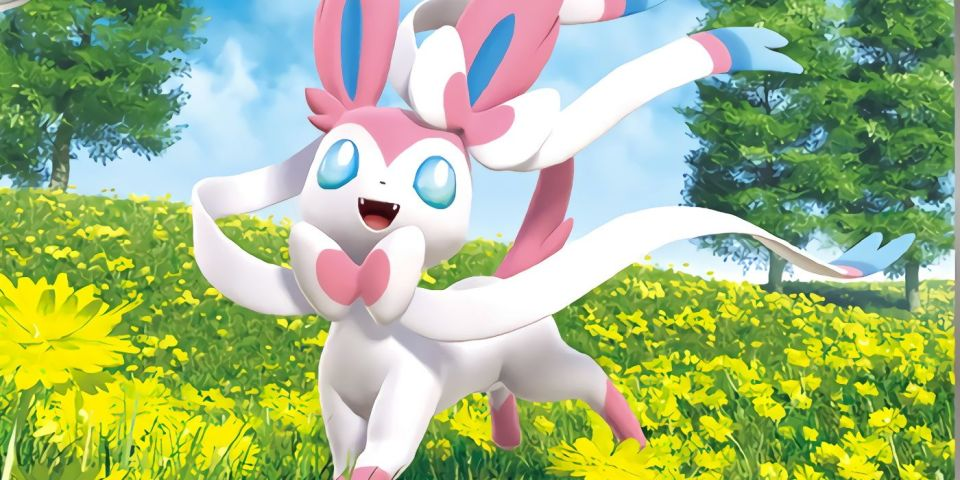 Featured image for the Pokemon UNITE Sylveon Release piece
