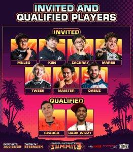 Smash Ultimate Summit 3 invites