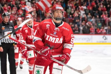 Filip Hallander's play in the SHL was fantastic, and because of it he got drafted.