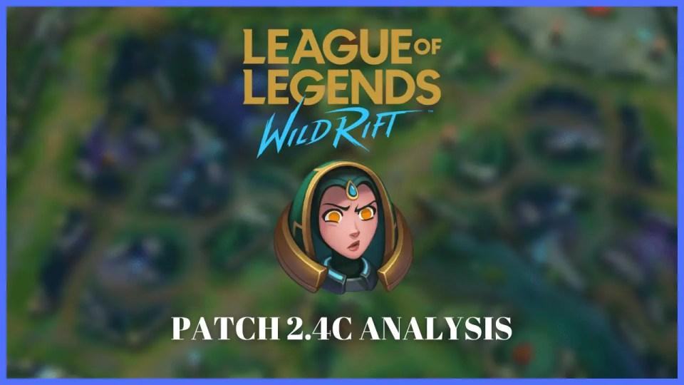 wild rift patch 2.4c