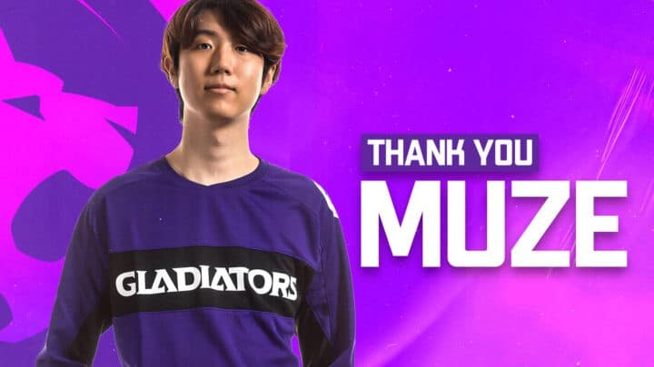 L.A. Gladiators Part Ways With MirroR and MuZe