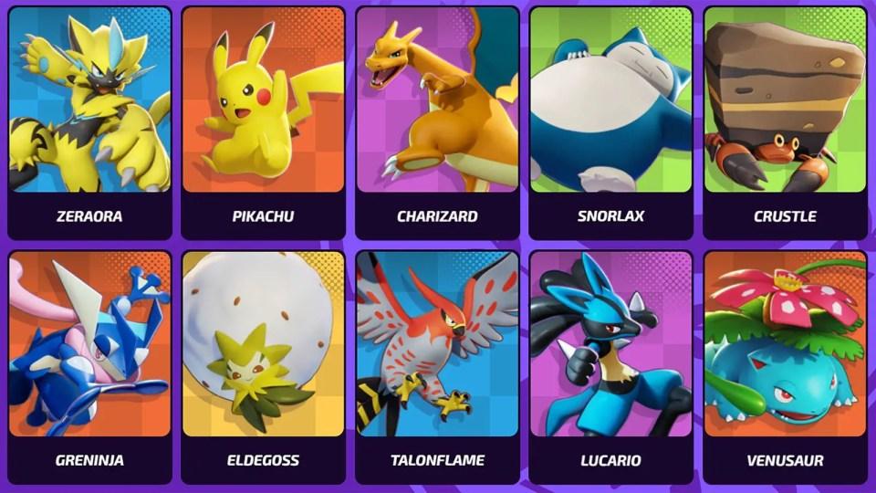 Featured image for the Pokemon UNITE Role Guide