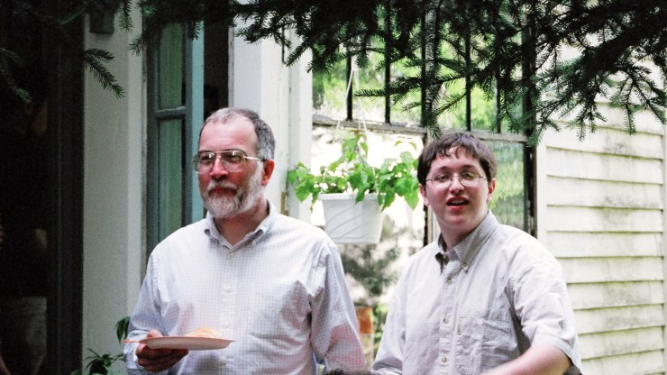 3- Ray and Steven in 2001
