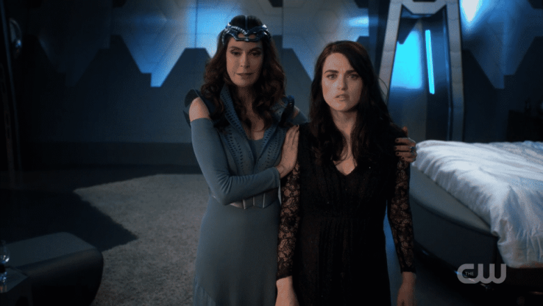Lena Luthor and Queen Reya