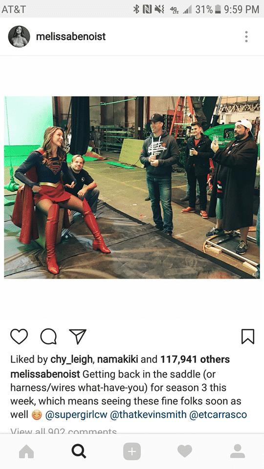 BTS Supergirl