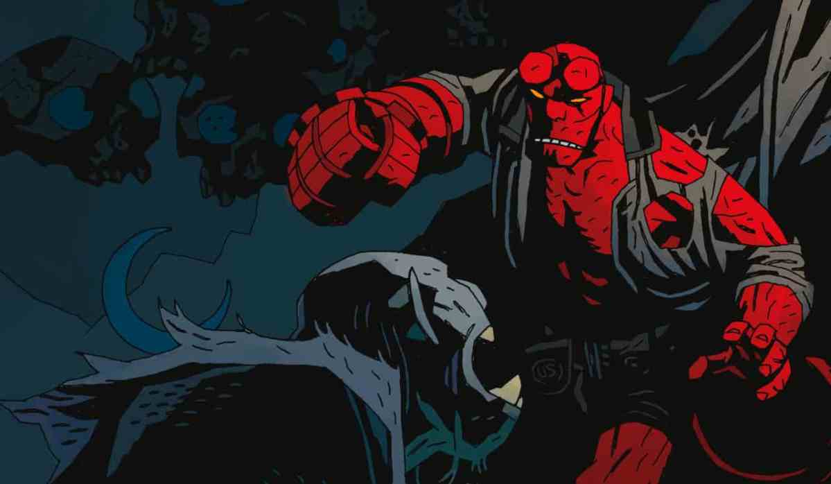 First Look At David Harbours Hellboy The Game Of Nerds Funko Pop Comics In Suit Sdcc
