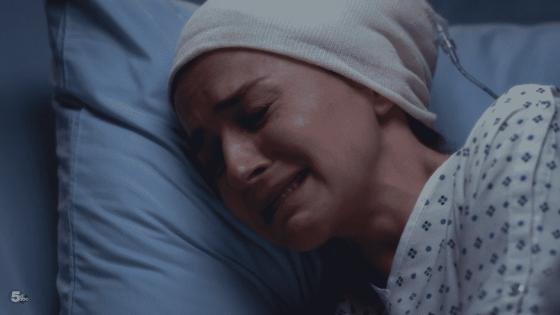 amelia in pain