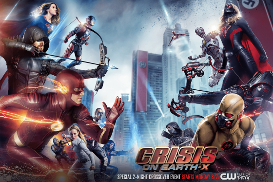 Crisis on Earth-X Poster Cropped
