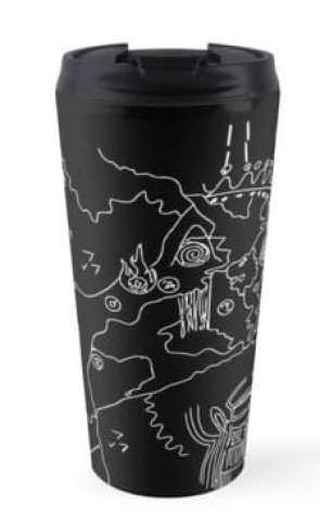 BL map travel mug