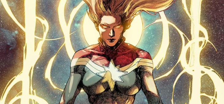 Captain Marvel Banner Unedited Marvel