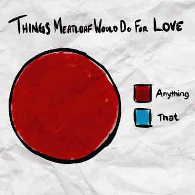 Things Meatloaf would do for love infographic