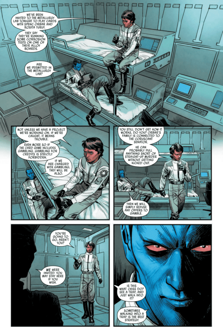 A page from Thrawn Issue #1