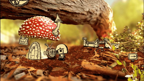 Mushroom Tala and the Flower Seed