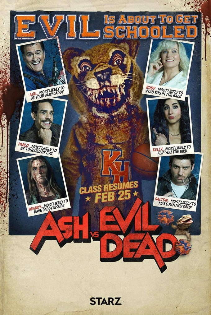 Photo Source: Ash vs Evil Dead on STARZ