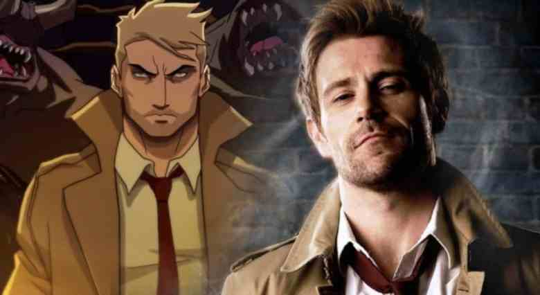 Animated and live-action versions of Constantine