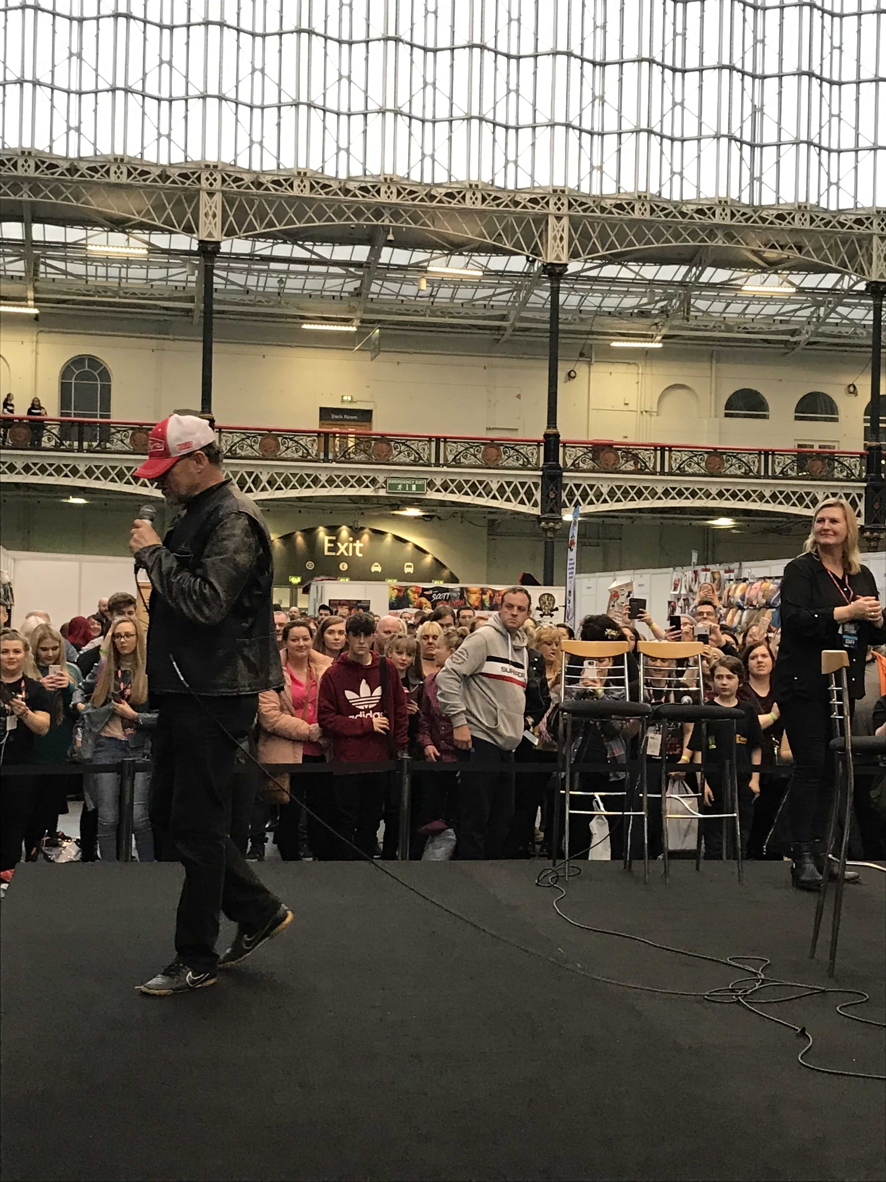 Source: TGON Jaimee Rindy // Michael Rooker (Merle on The Walking Dead) on the Live Stage