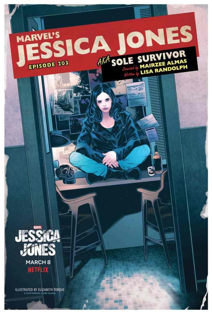 Jessica Jones 203 Poster