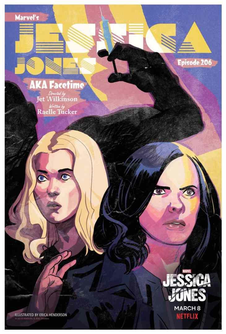 Jessica Jones 206 Poster