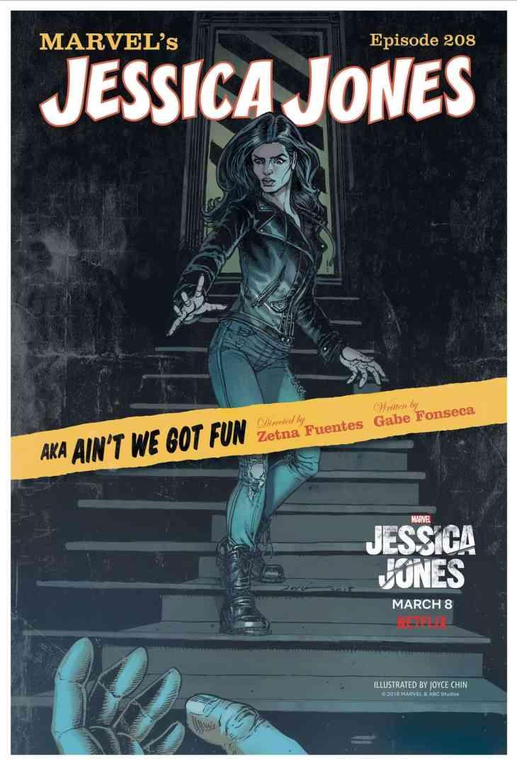 Jessica Jones 208 Poster