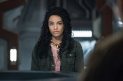 """DC's Legends of Tomorrow -- """"Guest Starring John Noble"""" -- Image Number: LGN317C_0167b -- Pictured: Maisie Richardson-Sellers as Amaya Jiwe/Vixen-- Photo: Dean Buscher/The CW -- © 2018 The CW Network, LLC. All Rights Reserved."""
