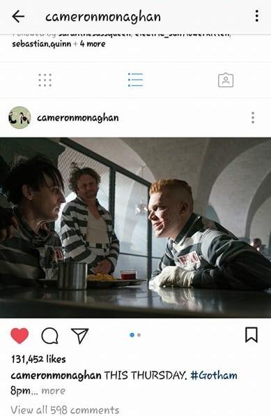 Jerome Valeska Instagram