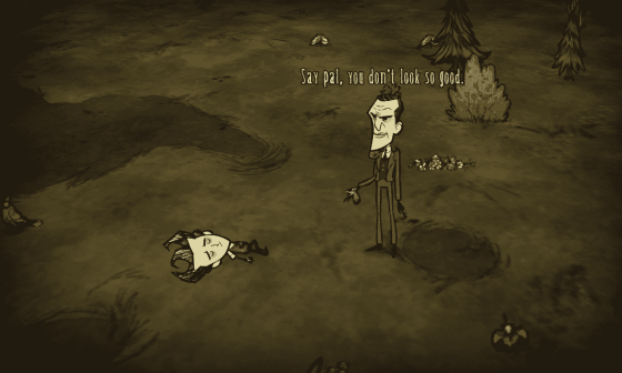 Don't Starve - Beginning Screen