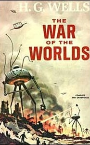 Cover of The War of the Worlds by HG Wells